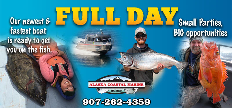 Full Day Halibut Fishing Trip - Homer Alaska