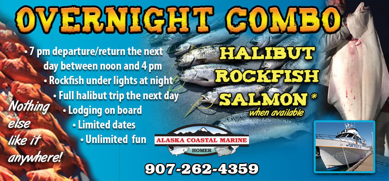 Overnight Combo Fishing Trip - Homer Alaska